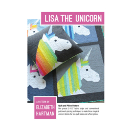 Lisa the Unicorn - pattern - Elizabeth Hartman
