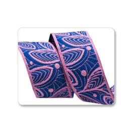 Amy Butler - AB-14 - Blue leaf Lines - 22 mm
