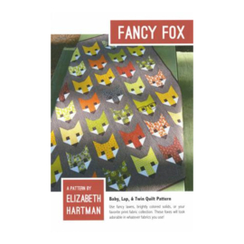 Fancy Fox - pattern - Elizabeth Hartman