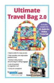 Ultimate Travel Bag 2.0 - pattern - By Annie