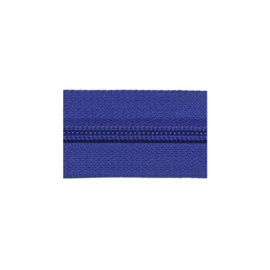 Kobalt - Zipper of the roll - per meter