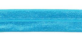 Fold-Over elastic - 20 mm - Aqua