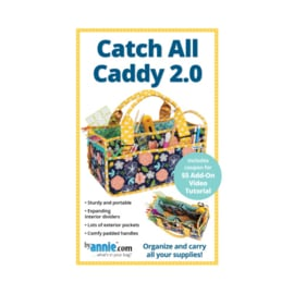Catch All Caddy 2.0 - patroon - By Annie