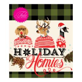 Fat Quarter Bundel (19) - Holiday Homies Flannel - Tula Pink