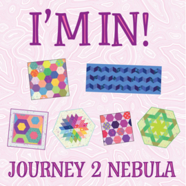 Journey 2 Nebula - pattern pack (6) - Jaybird Quilts