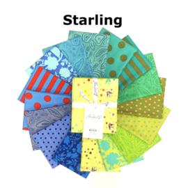 Starling - mix 16 FQ True Colors - Tula Pink