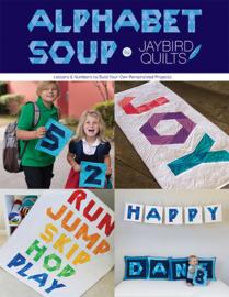 Jaybird Quilts - Alphabet Soup - Patronenboek