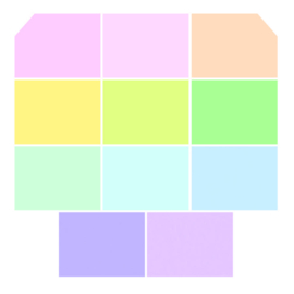 Unicorn Poop - Fat Quarters (11) - Tula Pink