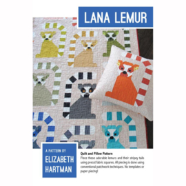 Lana Lemur - patroon - Elizabeth Hartman