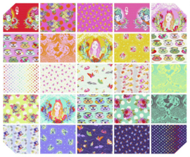 Fat Quarter Bundel (25) - Curiouser and Curiouser - Tula Pink