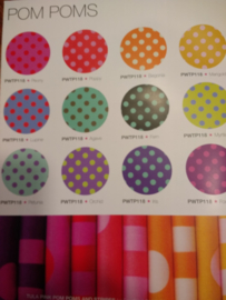 Tula Pink - Pom Poms - bundle of 12 Fat Quarter
