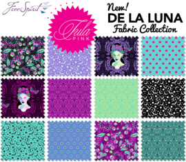 De La Luna - Fat Eight 18 - Tula Pink