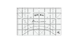 QCR - mini - liniaal