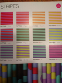 Tula Pink - All Stars - Tent Stripes bundle of 12 Fat Quarter