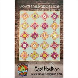 Down the Rabbit Hole - pattern - 3DogDesign/Carl Hentsch
