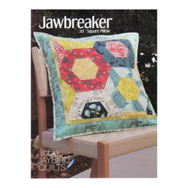 Jawbreaker Pillow - pattern - Jaybird Quilts