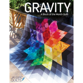 Gravity - pattern book - BoM - Jaybird Quilts