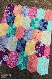 Disco Quilt - patroon-Jaybird Quilts