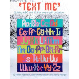 Text Me  - patroon - Sew Kind Of Wonderful