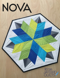 Nova - Jaybird Quilts - patroon
