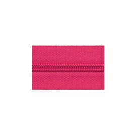 Zipper of the roll - Fuchsia - per meter