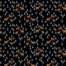 Bambi Life - Bluespruce - FNTP003 - Tula PInk