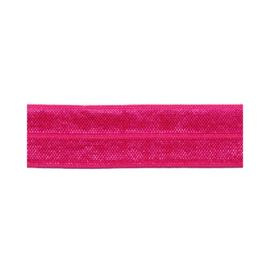 Fold-Over Elastic - 20 mm - fuchsia
