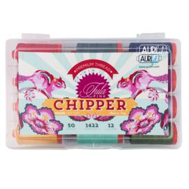 Aurifil - Chipper - 50w  - 12 kleuren Tula Pink