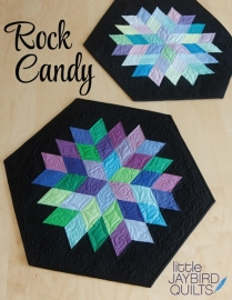 Rock Candy Table Runner - Jaybird Quilts - Patroon