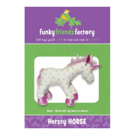 Horsey Horse - Funky Friends Factory - patroon