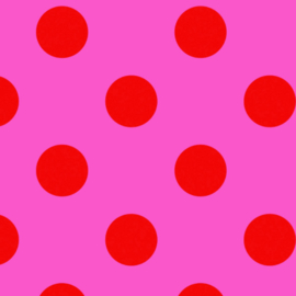 Pom Poms - Peony - PWTP118 - Tula Pink