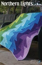 Northern Lights - patroon-Jaybird Quilts