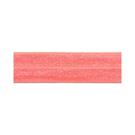 Fold-Over Elastic - 20 mm - peach