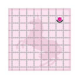 Ruler Unicorn - square 4 ½  inch - Tula Pink