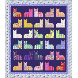 Cheshire Cats Diva Quilt - Quilt-Kit - Tula Pink