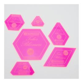 Acryl Templates - Bloomers - Tula Pink