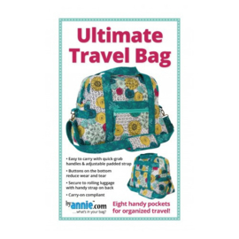 Ultimate Travel Bag - Patroon - By Annie