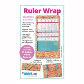 Ruler Wrap - patroon - By Annie