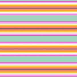Tula Pink - PWTP082 - Tick Tock Stripe Sorbet