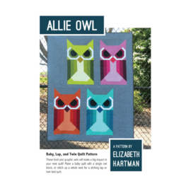 Allie Owl - Patroon - Elizabeth Hartman