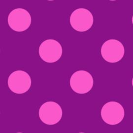 Pom Poms - Foxglove - PWTP118 - Tula Pink