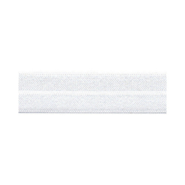 Fold-over Elastic - 20 mm - white