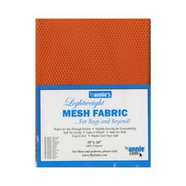 Mesh fabric - Pumpkin - By Annie