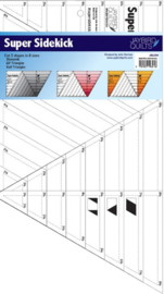 Super-Sidekick liniaal - Jaybird Quilts