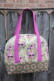 Aeroplane Bag - Patroon - Sew Sweetness