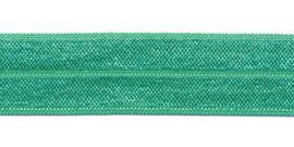 Fold-Over Elastic - 20 mm - appelblauwzeegroen