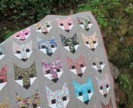 Fancy Fox - patroon- Elizabeth Hartman