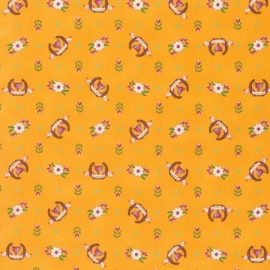 Tula Pink - PWTP089 - Orange Crush Winner's Circle
