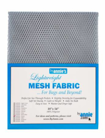 Mesh Fabric - Pweter - By Annie