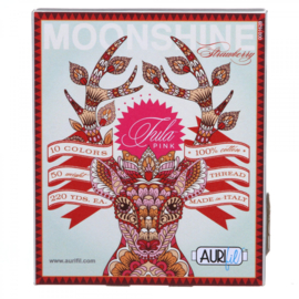 Aurifil - Moonshine  Strawberry - 50 w Tula Pink